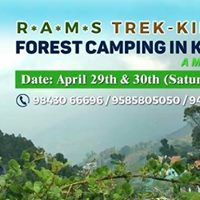 Forest Camping In Kodaikanal