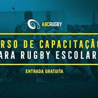 Curso Gratuito de Capacitao para o Rugby Escolar