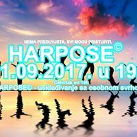 Harpose - usklaivanje sa osobnom svrhom 21092017 u 19h