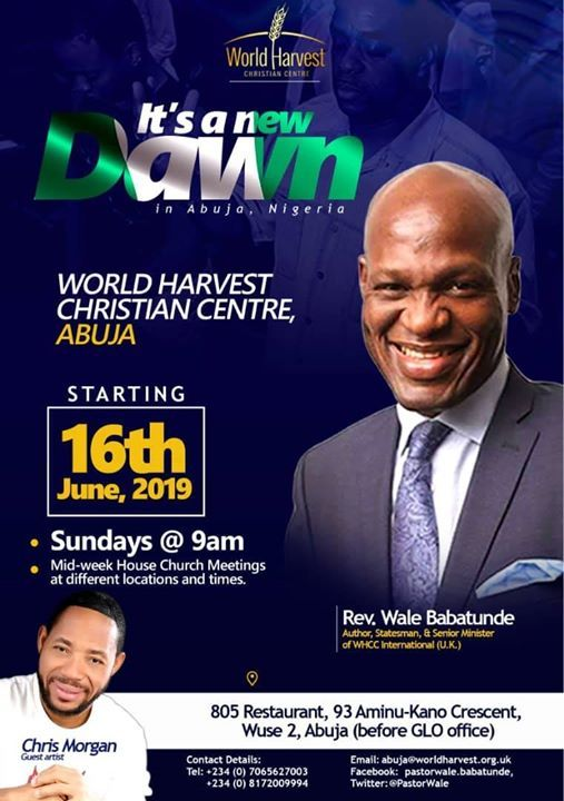 Its A New Dawn -  WHCC Abuja Launch