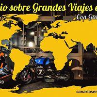 I Coloquio sobre Grandes Viajes en Moto con Gabriel Vissio