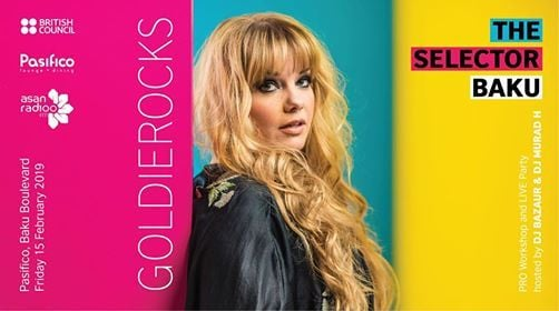 Selector LIVE DJ Party with Goldierocks