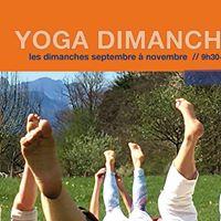Yoga dimanche matin