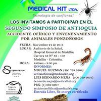 Segundo Simposio de Antioquia de Accidente Ofidico y Envenenamientos por Animales Ponzoosos