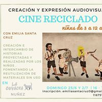 CINE Reciclado Creacin y Expresin Audiovisual nios de 3 a 12