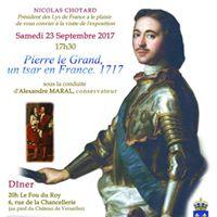 Visite exposition &quotPierre le Grand un tsar en France. 1717&quot