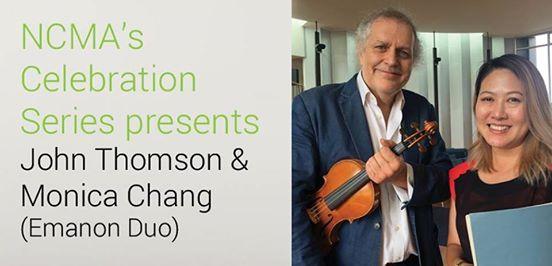 NCMAs Celebration Series John Thomson and Monica Chang