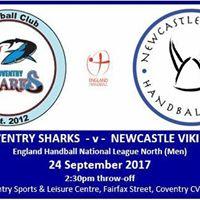Coventry Sharks v NVHC Men