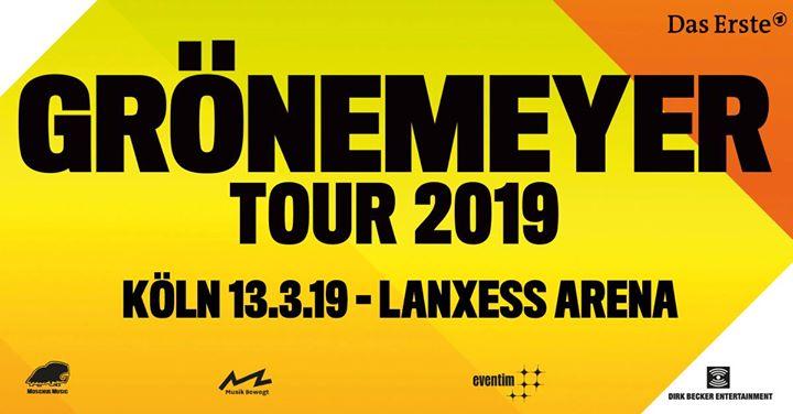 Herbert Grnemeyer  Arena Tour 2019 - Kln