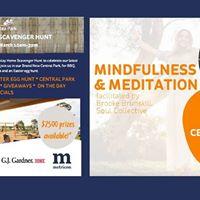 Mindfulness &amp Meditation - Display Home Scavenger Hunt