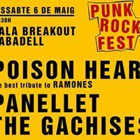 PUNK ROCK FEST Sala Breakout (Sabadell)