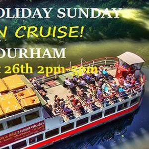 Durham August Bank Holiday Gin Cruise At Prince Bishop River Cruiser