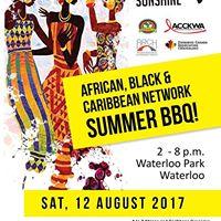 African Caribbean &amp Black Network BBQ