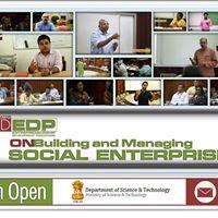 EDP on &quotBuilding &amp Managing Social Enterprises&quot