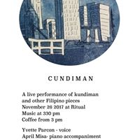Cundiman Live Kundiman by Yvette Parcon