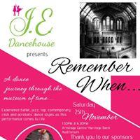 JE Dancehouse Dance Concert