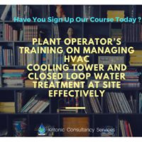 Plant Operators Training on Managing HVAC Cooling Tower