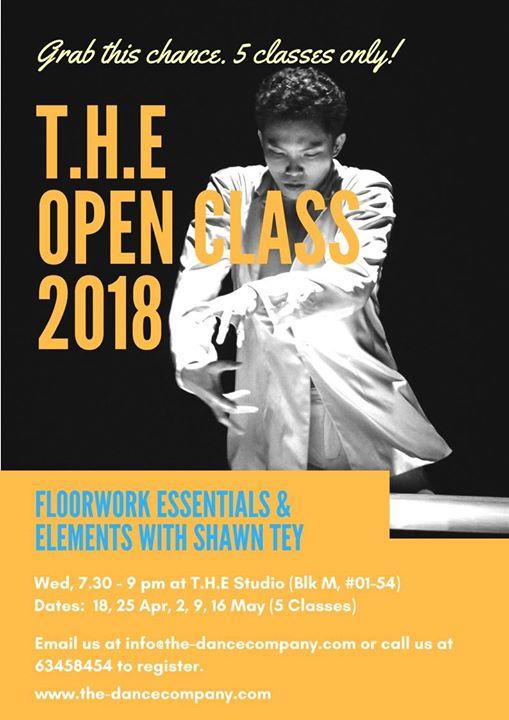 Floorwork Essentials & Elements with Shawn Tey