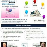 Real Estate Hot Topics