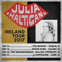 Julia Haltigan with Ben Prevo - The Bowery Dublin