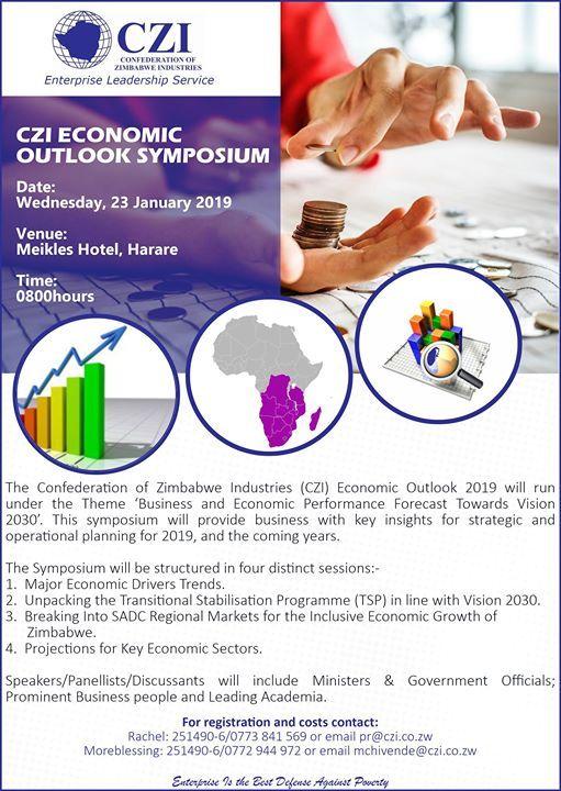 CZI Economic Outlook Symposium 2019
