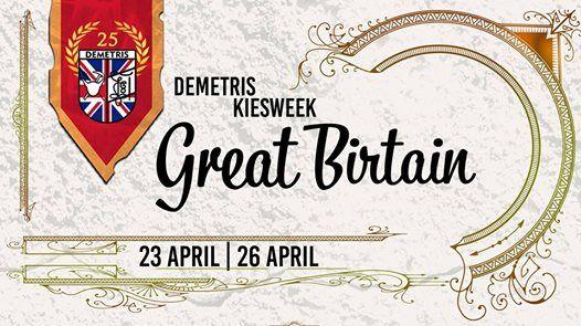 Demetris kiesweek Great BIRtain