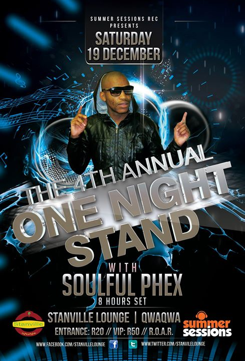 4th Annual One Night Stand With Soulful Phex 8 Hours Set