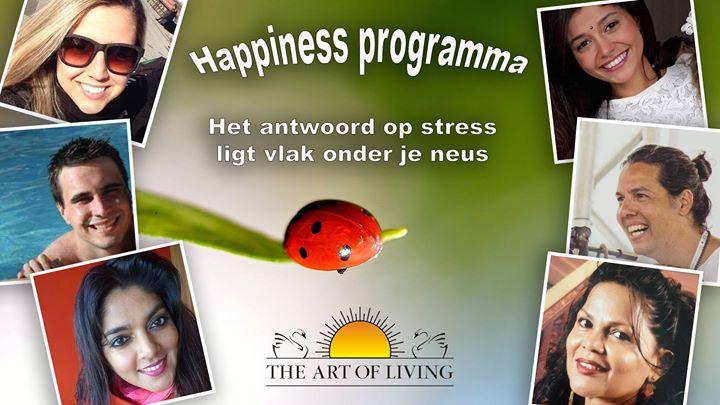 Happiness Programma Rotterdam 18 19 en 20 augustus 2017