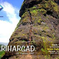 Trek to Harihar Fort