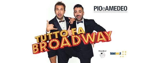 Pio e Amedeo in Tutto fa Broadway at Arena Del Mare (Salerno)
