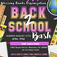 Blessing Hands Back 2 School Bash Hosted By Lakitta Webb