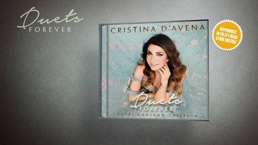 Cristina DAvena ospite live a Brescia (BS)