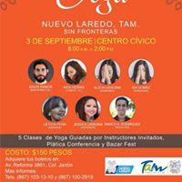 Segundo encuentro de Yoga Nuevo Laredo