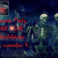 Halloween Party az EFFEKT-el az IKON CLUB-ban