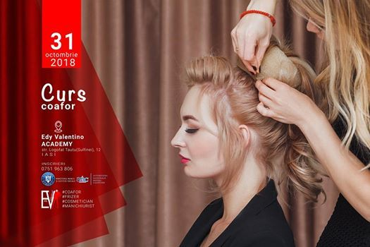 Iasi Curs Calificare Coafor Hairstyling Diplome Acreditate At Edy
