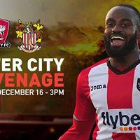 Exeter City vs Stevenage - Saturday December 16