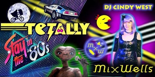 Totally 80s Dance Party with DJ Cindy West! Request Line is