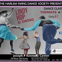 Harlem Swing Dance Tuesdays Class with Class