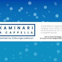Cosplay Snow Festival Presents Kaminari A Cappella