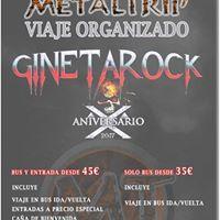 Viaje Organizado al Gineta Rock 2017 desde Madrid