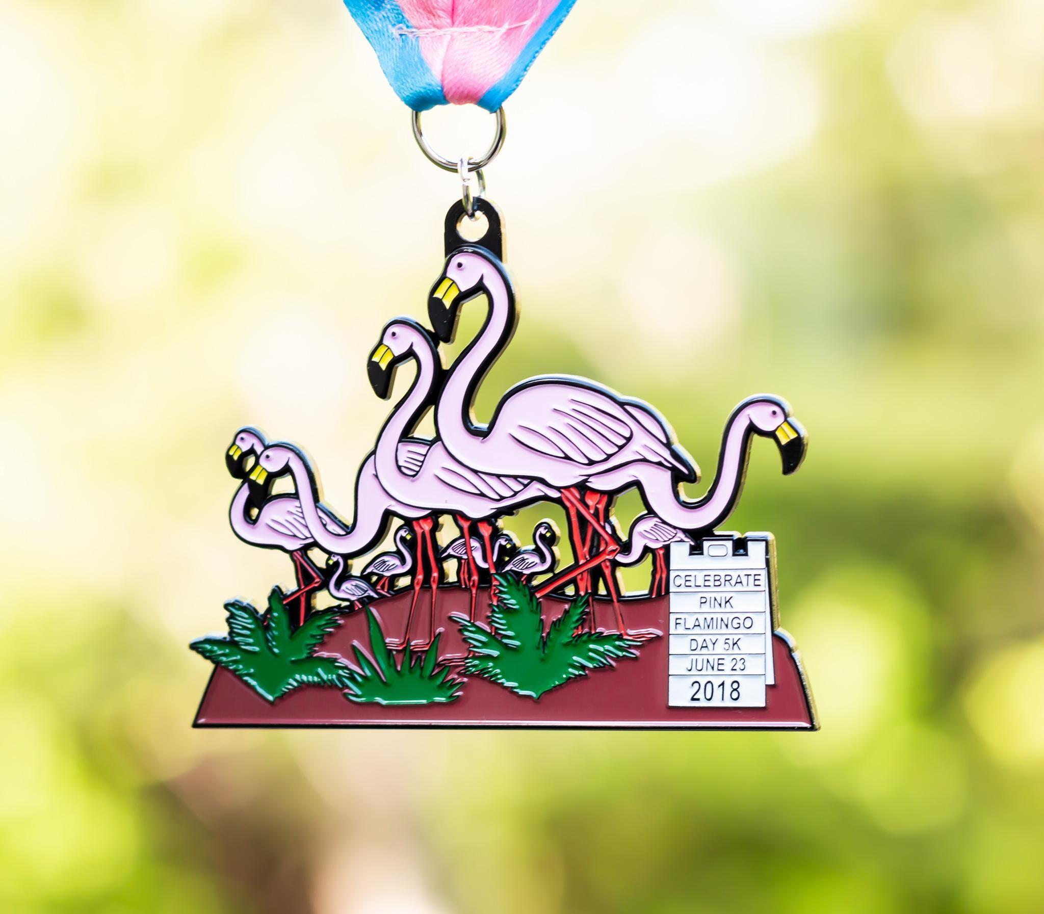 Flamingo Day 5K -Huntington Beach
