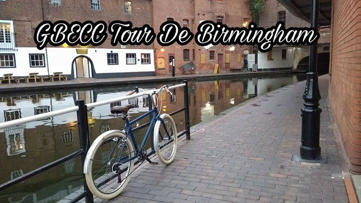 GBE Canal Tour Of Birmingham