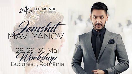 Work Shop by Jemshit Mavlyanov - Mai 2018