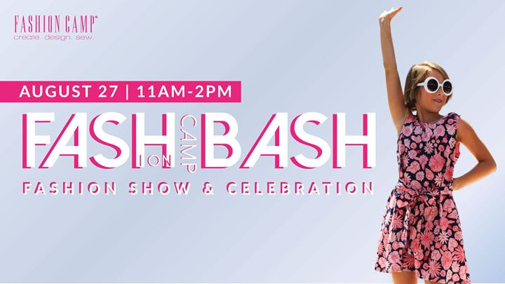 Fashion Camp Bash At Fashion Camp Create Design Sew Tustin