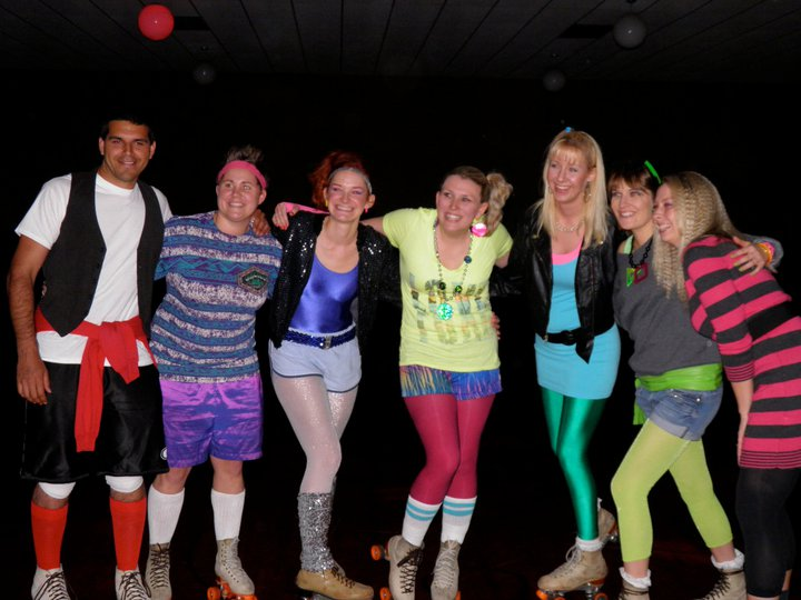 30s Singles 80s Party Roller Skating At Roller Garden Saint Louis Park