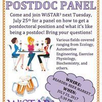WiSTAR Postdoc Panel