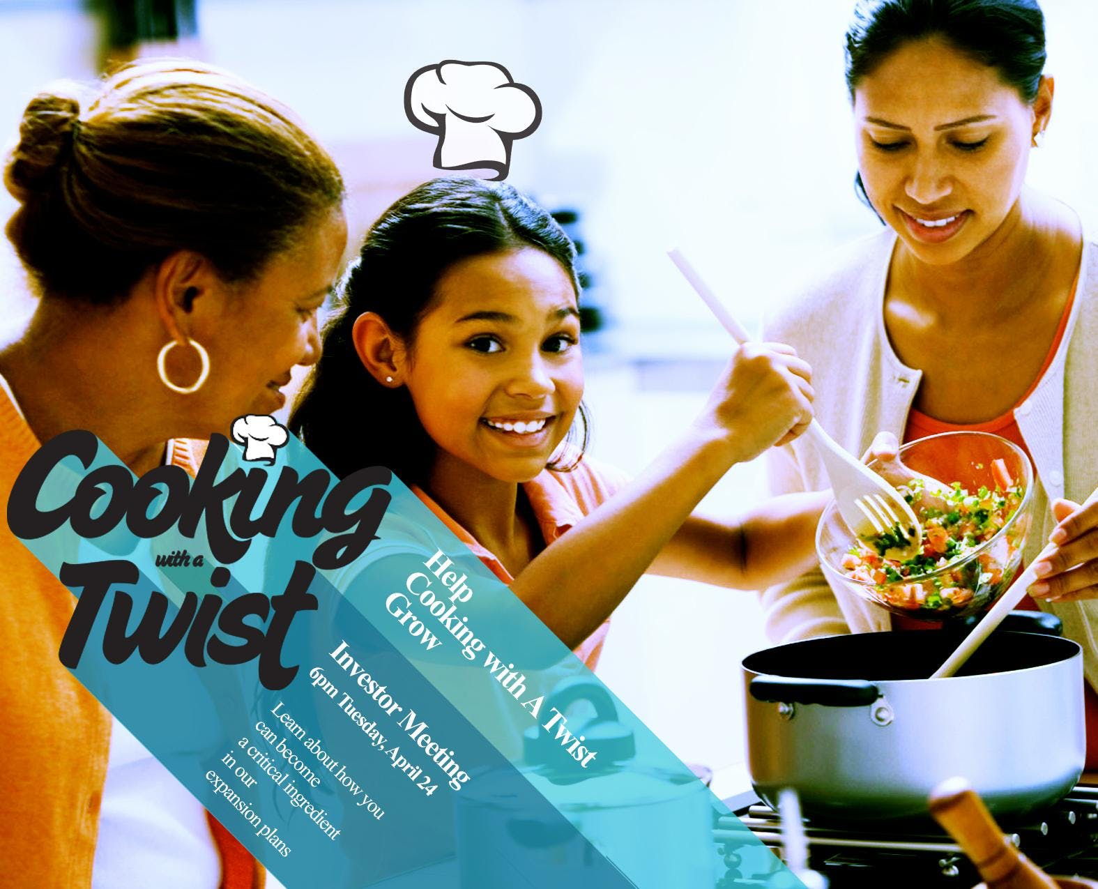 Cooking With A Twist Investors Meeting &amp Mini Cooking Class