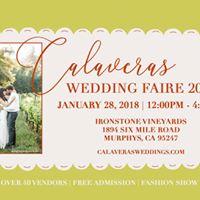 2018 Calaveras Wedding Faire