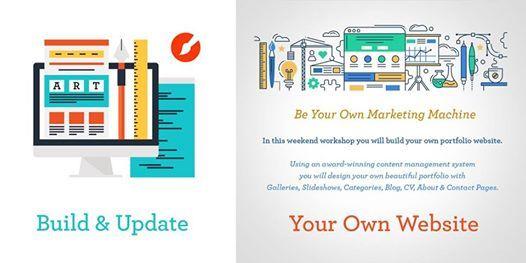 Build Update Your Own Artist Portfolio Website At Swinton S Art