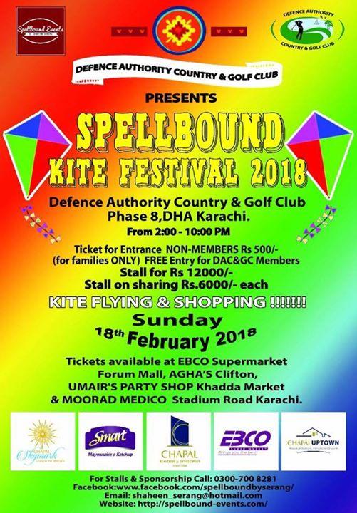 Spa Fresh at Spellbound Kite Festival 2018 | Karachi
